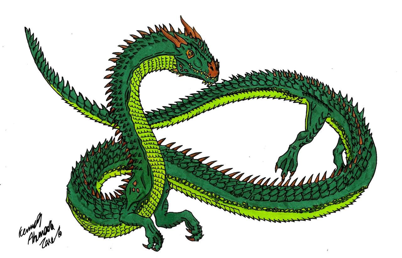 Neo Daikaiju-MANDA by Dino-master