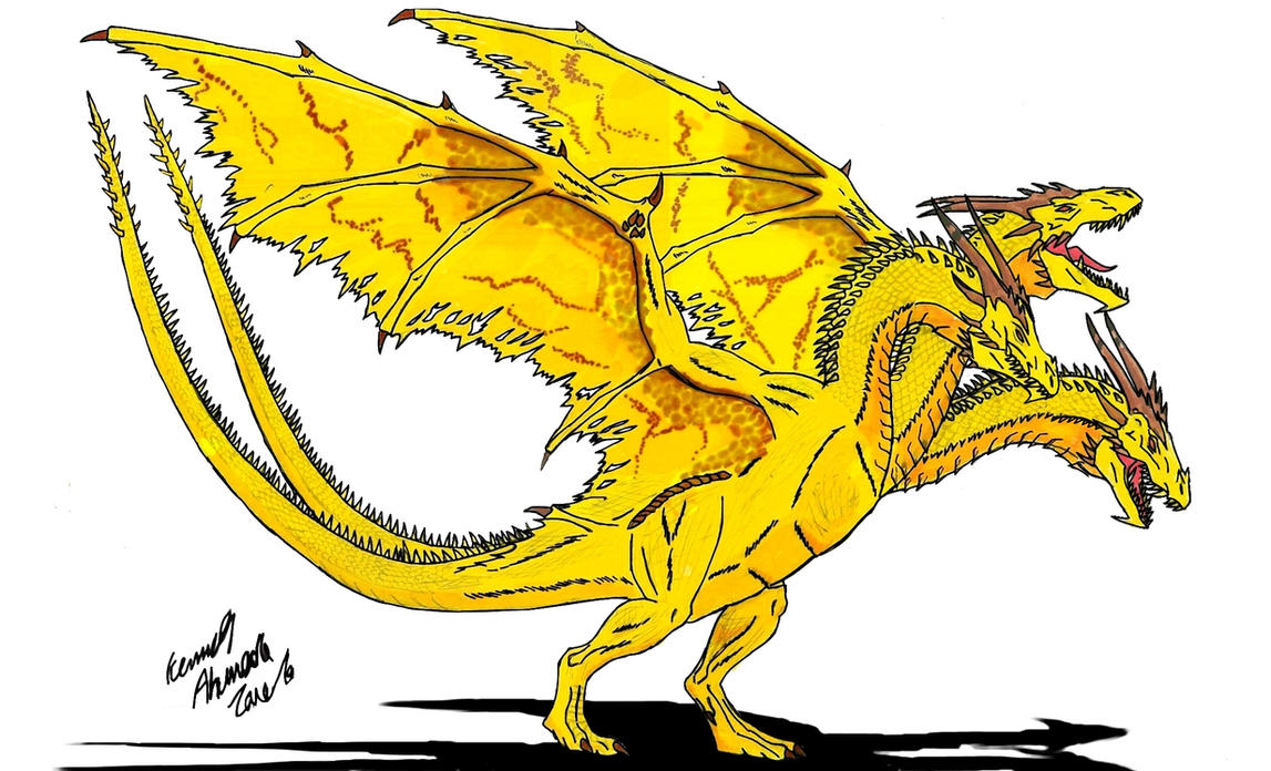 Neo Daikaiju-KING GHIDORAH by Dino-master on DeviantArt