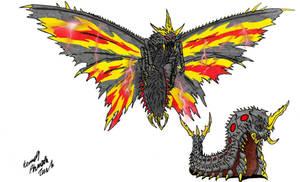 Neo Daikaiju-BATTRA by Dino-master
