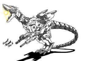 Neo Daikaiju-SMG IInd by Dino-master