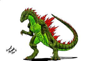Godzilla by Dino-master