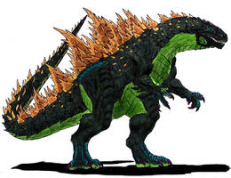 Legendary Godzilla by Dino-master