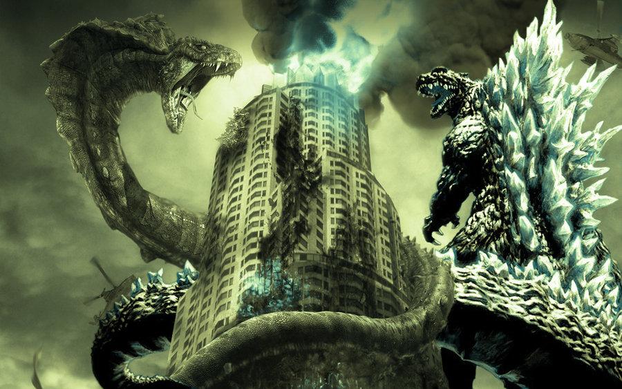 Godzilla Vs Buraki by Dino-master