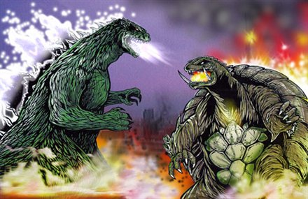 Death Battle by Dino-master