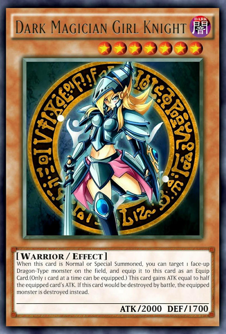 Dark Magician Girl Knight By Dino Master On Deviantart