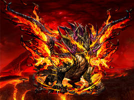 Overlord Hot Red Dragon Archfiend by Dino-master