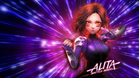 Alita Battle Angel Wallpaper by Dino-master