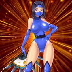 Blade Ninja Girl by Dino-master
