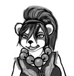 Furr Panda by LunoLey
