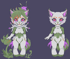 Pixel Monster by LunoLey