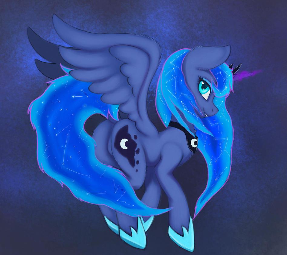 Princess Luna by LunoLey