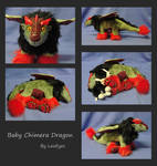 Poseable Baby Chimera Dragon