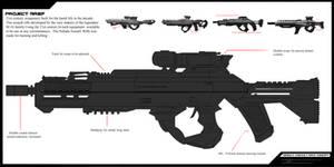 Nebula Assault Rifle concept