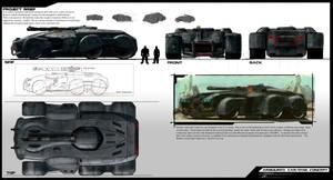 Armoured TankCar