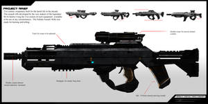 Nebula Assault Rifle concept by MAKS-23