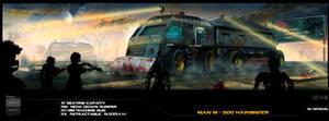 Zombie apocalypse safety transport