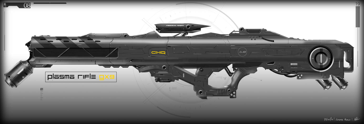 Plasma rifle gnomon comp1 final by MAKS-23
