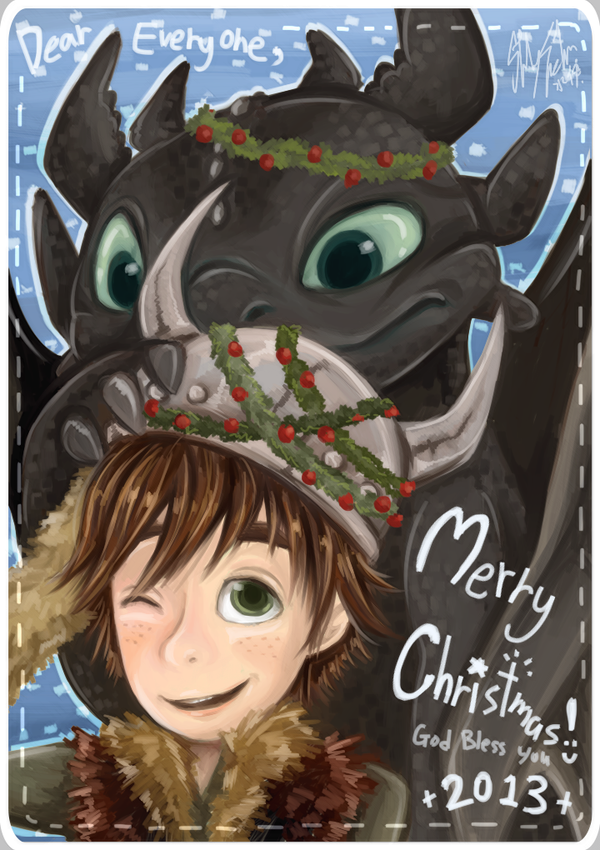 Merry Christmas 2013!!!! by Lilu-Leloo