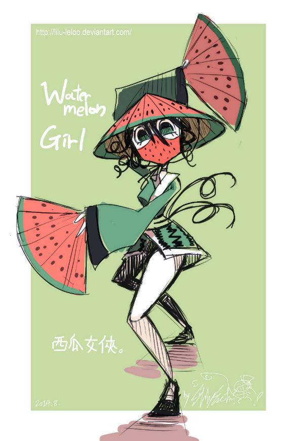 Wa! Ter! Me! Lon! Girl!!! by Lilu-Leloo