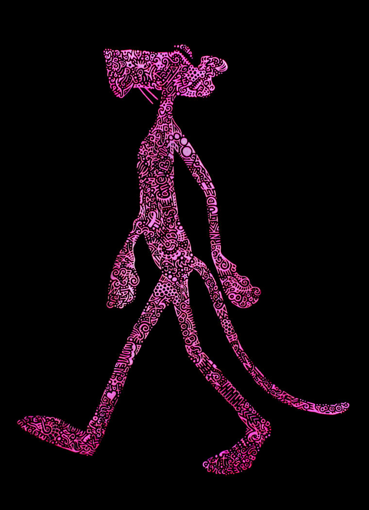 Pinkitude Awareness Panther by Ixilder
