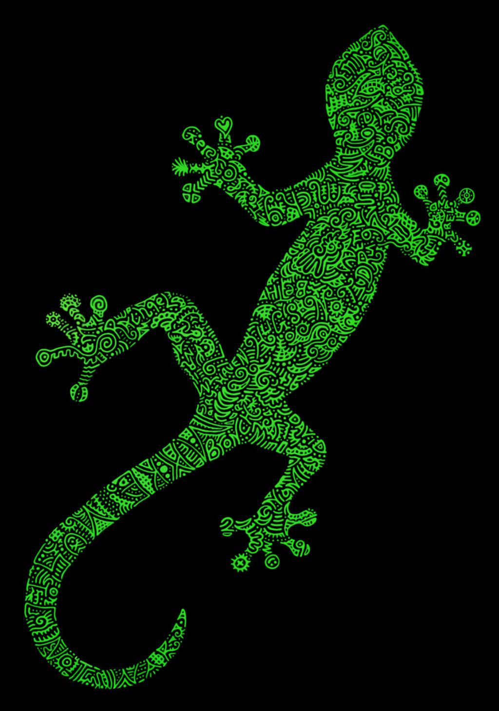 Gifted Gecko by Ixilder on DeviantArt