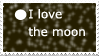 I love the moon by ohhperttylights