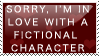 fictional characters stamp by ohhperttylights