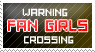 warning fangirl crossing stamp by ohhperttylights