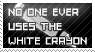 white crayon by ohhperttylights