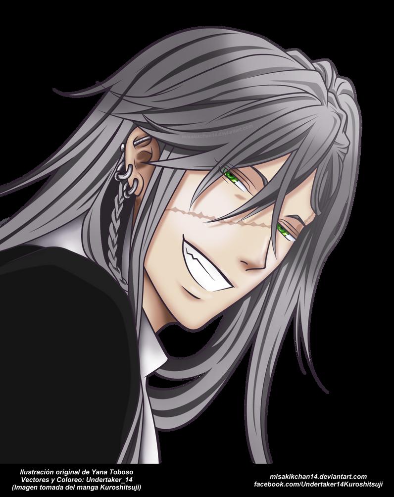 Undertaker Akuma 6 - Kuroshitsuji (Render) by MisakiKChan14