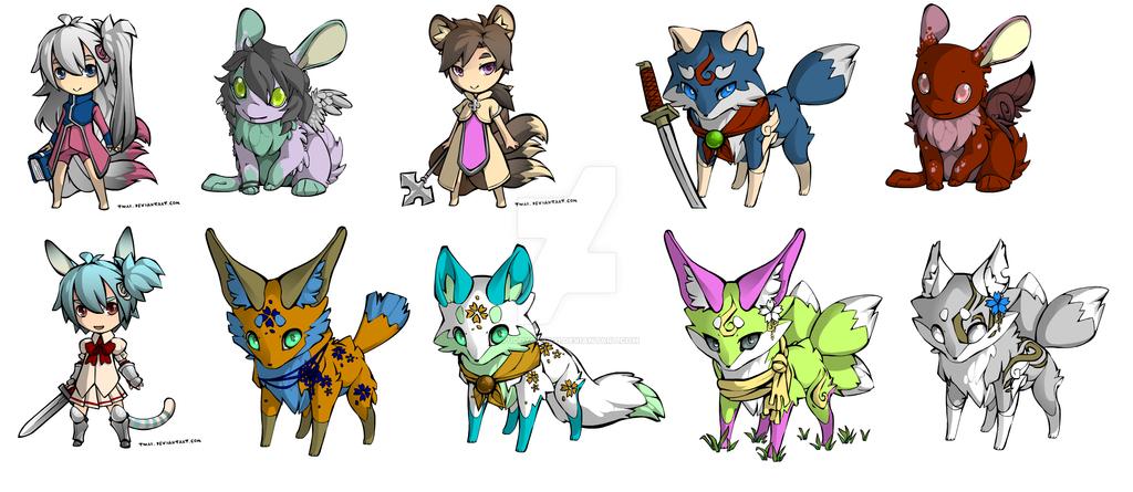 Random Adopts by puddycat431