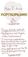 How to draw Poptropicans!