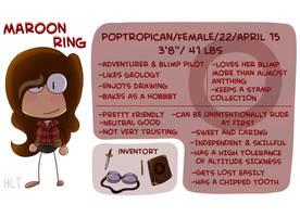 Maroon Ring Ref Sheet