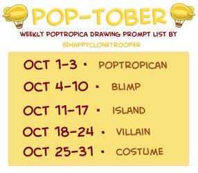Pop-tober Prompts
