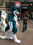 ShineyFighter Sergal Suit.