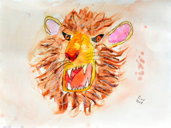 Lion (Junior) by Ptero-Pterodactylus