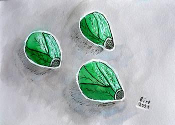 inktober2021-20 Sprout (Junior)