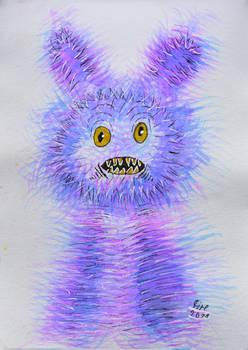 inktober2021-21 Fuzzy (Junior)