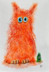 inktober2021-21 Fuzzy