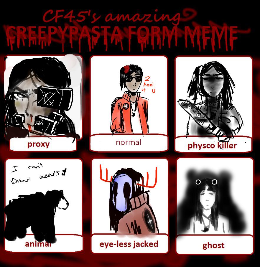 Eren Creepypasta Forms Meme by xXjustsomekiddoXx