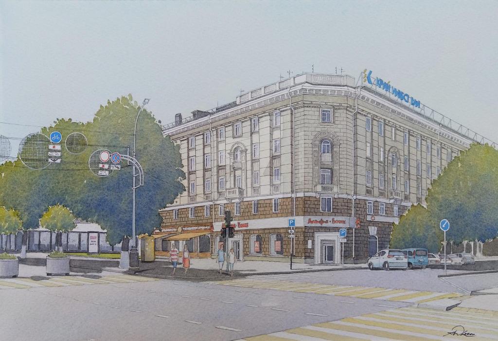 Krasnaya Street Apartments Krasnodar By Rafterman1977 On Deviantart