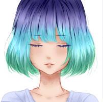 Chica random (?) by Reikko-uwu