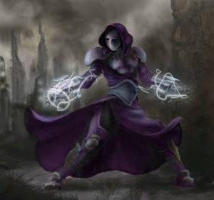 Sci-Fi Fantasy character