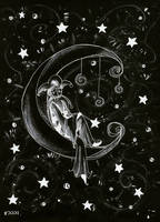 in the moonlight by currysiek