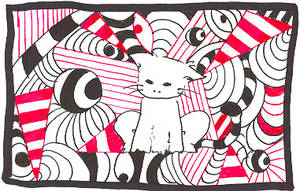 surrealistic cat by currysiek