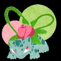 4 - Ivysaur by Aubrace