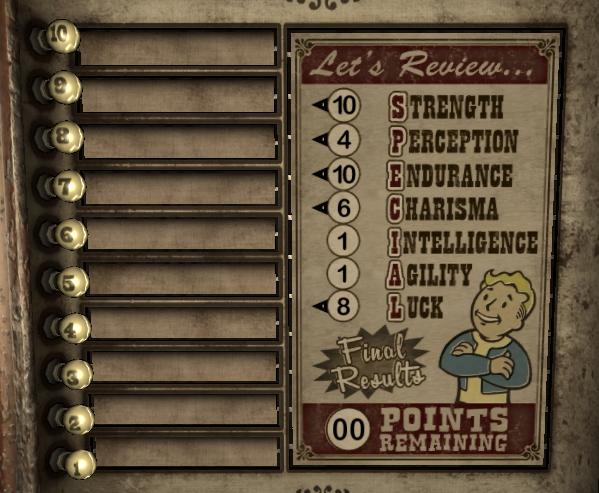 Scyllas stats in Fallout: New Vegas. by JaredtheFox92 on DeviantArt