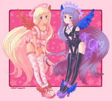 Angelic Adopts by Apricot-Crown