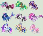 .:Batch Ponys -Set Price (Closed):.(00/09)