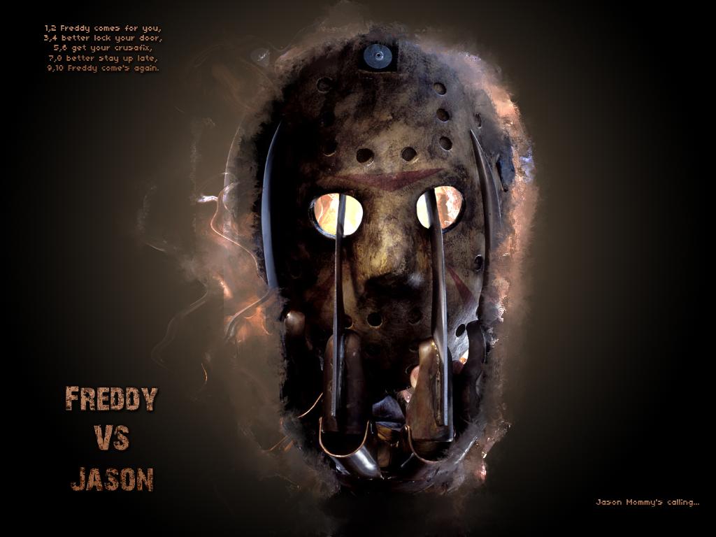 Halloween Jason VS Freddy By Kingdarkness